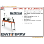 VIP290 - BATTIPAV 900MM TILE CUTTER